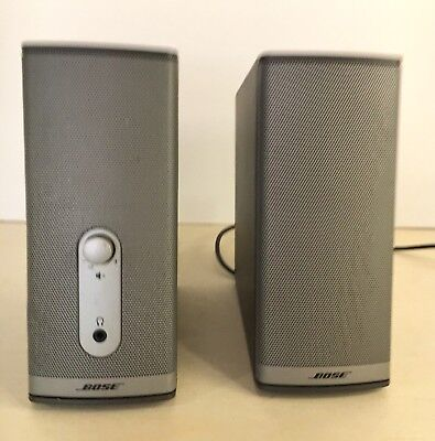 Bose Companion 2 Series II Computer Multi Media Speakers