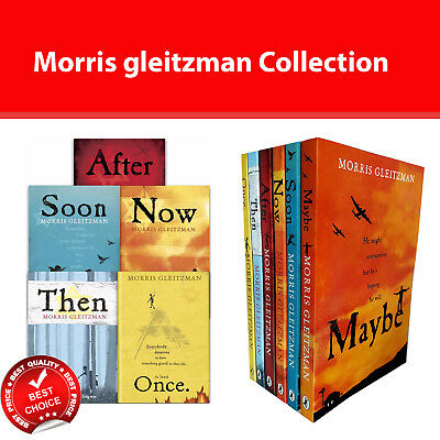 Morris Gleitzman Collection 6 Books Set Once, Then, Now, After, Soon, Maybe NEW