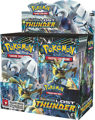 Pokemon - TCG - LOST THUNDER Booster Box