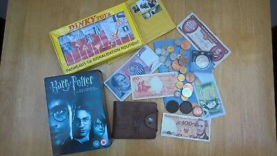 Collectables.Harry Potter, Coins & Bank Notes, Dinky Toys,Stamps.