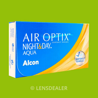 » AIR OPTIX NIGHT AND DAY AQUA 1x6 KONTAKTLINSEN MONATSLINSEN «ALCON CIBA VISION