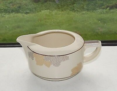 Royal Doulton Pottery c1930s Athlone Pattern D5551 Gravy Jug