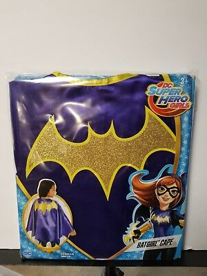 DC Super Hero Girls Batgirl Cape New Halloween