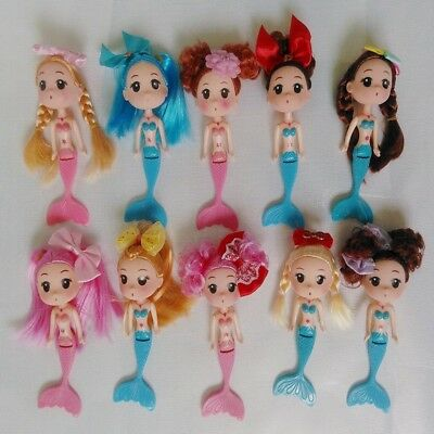 Different Girl's Decoration Doll Mermaid Ddung Mini