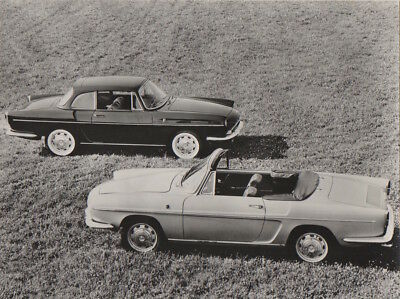 Renault Caravelle Coupe / Convertible UK Issue Period Press Photograph