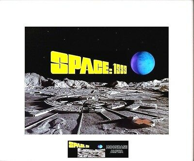 "(3) SPACE 1999 MoonBase Alpha 8"" x 10"" Photos - 11"" x 14"" White Matted"