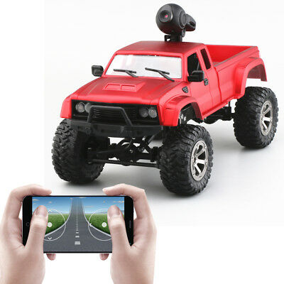 4WD With camera HD WiFi FPV transmission Real Time RC car 2.4GHz Military Truck