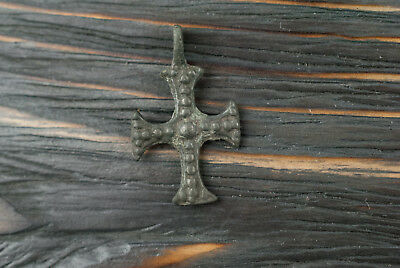 Authentic Medieval Knights Templar cross 12th-13th century AD Crusades Pendant