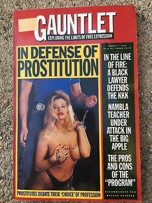 "GAUNTLET  Exploring the Limits of Free Expression #7. 1994 ""Prostitution"""