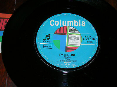 """GERRY AND THE PACEMAKERS 7"""" I`M THE ONE / YOU`VE GOT WHAT I LIKE Columbia 22 650"""