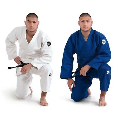 PANTALONI JUDO GI GREEN HILL IJF APPROVED BLU TROUSERS BLUE GREENHILL