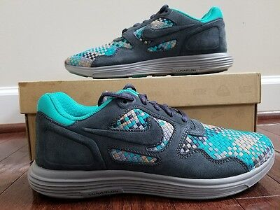 buy popular a4c9d 9946a Nike Lunar Flow Woven QS Runing Shoes 526636 007 MENS NEW