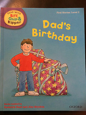 ORT: Read with Biff, Chip & Kipper: Dad's Birthday - paperback - VGC