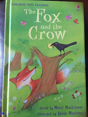 Usborne First Reading: Fox and the Crow - hardback - VGC