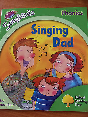 Songbirds: Stage 2: Singing Dad by Julia Donaldson - paperback - VGC