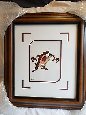 "2004 Taz Mini CEL 8"" x 6"" From the Edition of 9500 Warner Brothers 18x16 Frame"
