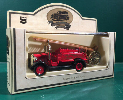 Standard Oil Company 1934  Dennis Fire Engine Toy Replica Original Box Chevron