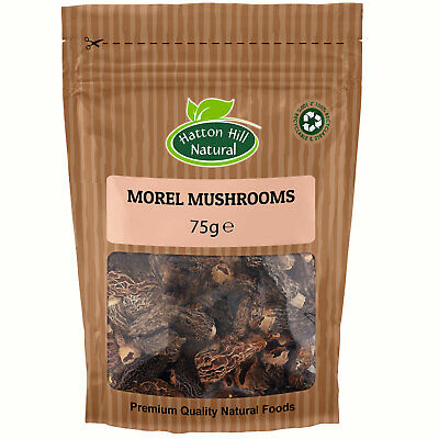 Dried Morel Mushrooms 75g - Free Delivery -