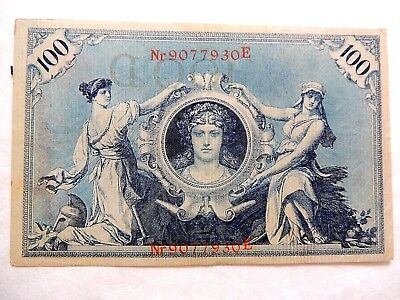 1908 German One Hundred (100) Mark Note