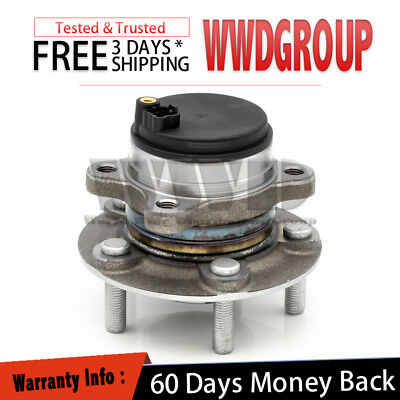 512497 Rear Wheel Hub & Bearing Studs Assembly For 2013-2017 FORD FUSION [FWD]