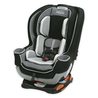 Graco Extend2Fit Platinum All-in-One Convertible Car Seat in Carlen