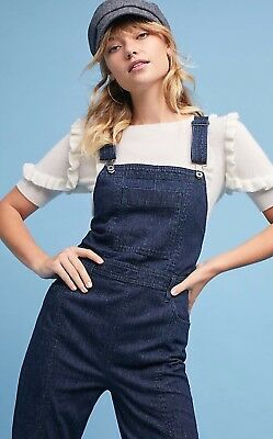 988bc366ada NWT Anthropologie Pilcro and The letterpress Overalls jumpsuit size 27-Fast  Ship