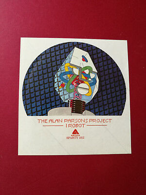 The Alan Parsons Project I Robot A1/B1 UK 1st with ULTRA RARE STICKER + NM vinyl
