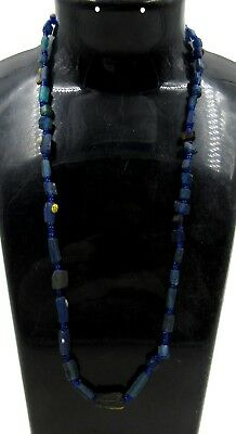 Authentic Ancient Roman Glass Beaded Necklace - G393