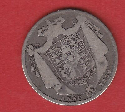 Great Britain 1834 Silver