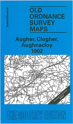 Old One Inch Map Augher Caledon Clogher Tynan Tyrone Aughnacloy 1902