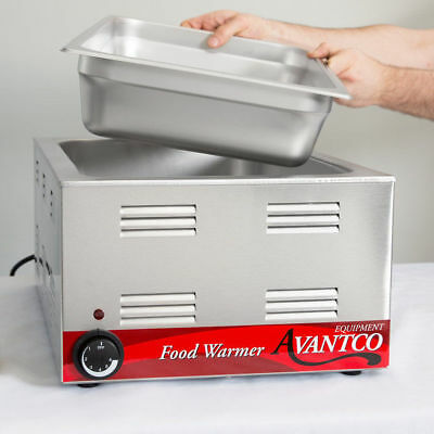"""FULL SIZE 12"""" x 20"""" Electric Countertop Food Pan Warmer Commercial Chafing Dish"""