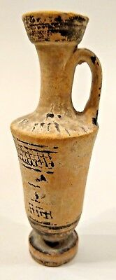Ancient Greek Attic White Ground Lekythos - ATHENS - Circa 5th Century BC