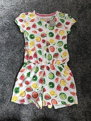 Next Play Suit All On One Fruit Age 8 Years BNWT £14