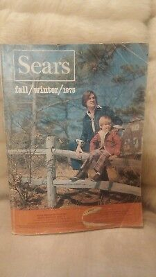 Vintage 1975 Sears Fall & Winter catalog Midwest Edition