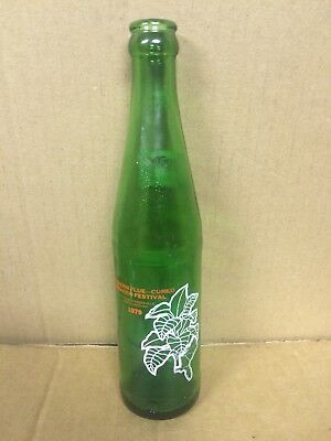 Mountain Dew Soda Bottle Southern Flue-Cured Tobacco Festival 1979. Rare! Nc