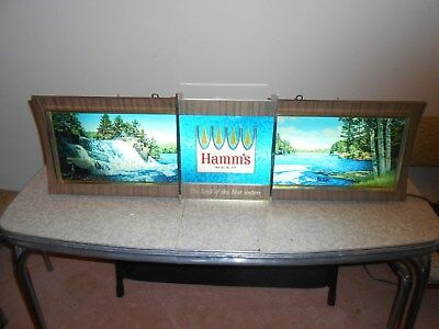 Hamms Beer Motion Sign, Works Perfectly