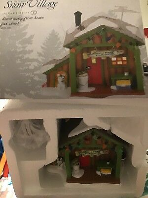 Department 56 Snow Village Home Away From Home Fish Shack Building 4056685 New