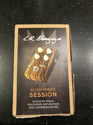NEVER USED LR Baggs Align Series Session Acoustic Saturation & Compression Pedal