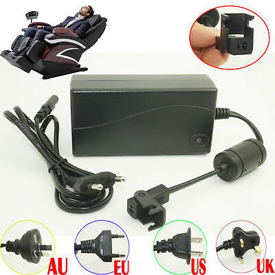 29V 2A Electric Recliner Sofa Chair Charger Power Adapter Plug Transformer 2 Pin