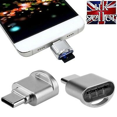 USB 3.1Type C Memory Card Reader Adapter for Micro SD / SDHC / SDXC TF t flash
