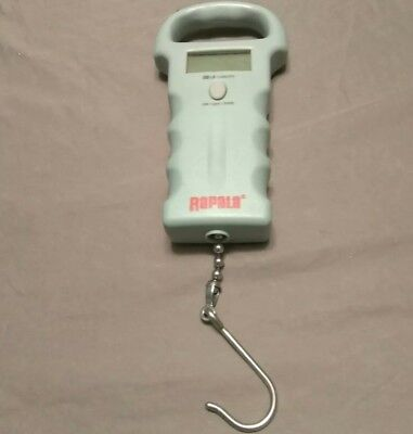 RAPALA 50 LB. Pound Compact DIGITAL Fishing Fish Scale w/ Hook!