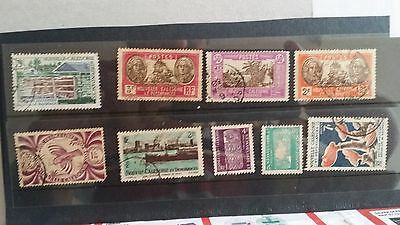 New Caledonia -  mix lot used stamps lot7
