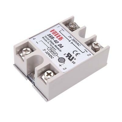 24V-380V SSR-40DA 40A Solid State Relay for PID Temperature Controller Durable T