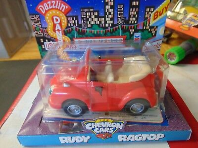 The Chevron Cars 1999 Rudy Ragtop Convertible NOS ESTATE TOY COLLECTOR SALE