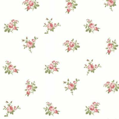"""Bhf FD68706""""Claremont Roselle Toss Wallpaper–pink-p, rosso, (t1C)"""