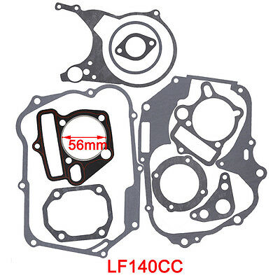 Complete Gasket Set Fit 140cc Lifan Engine Motor Dirt Bike 56mm Bore