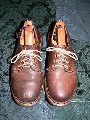 The Original Dr. Martens Brown Leather Lace Up Shoes Oxfords, Size 6M