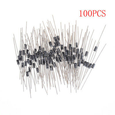 100PCS 1N4001 IN4001 DO-41 1A 50V Rectifier Diodes~