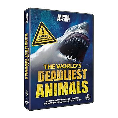 The Worlds Deadliest Animals Complete Documentaries Collection New 6 Dvd R4