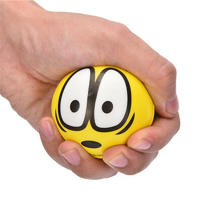 Anti Stress Face Reliever Grape Ball Autism Mood Squeeze Relief ADHD Funny ZU